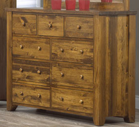Rough Sawn Assorted Dressers Anne Quinn Solid Wood