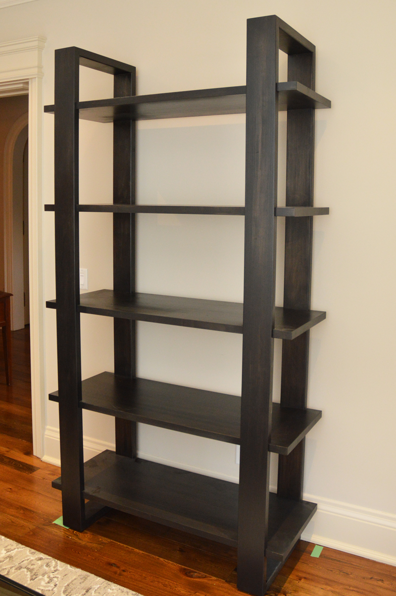 Woburn Etagere Bookcase Anne Quinn Solid Wood Furniture In