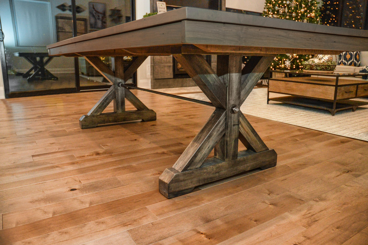 Build In Canada Solid Wood Table Anne Quinn Solid Wood Furniture