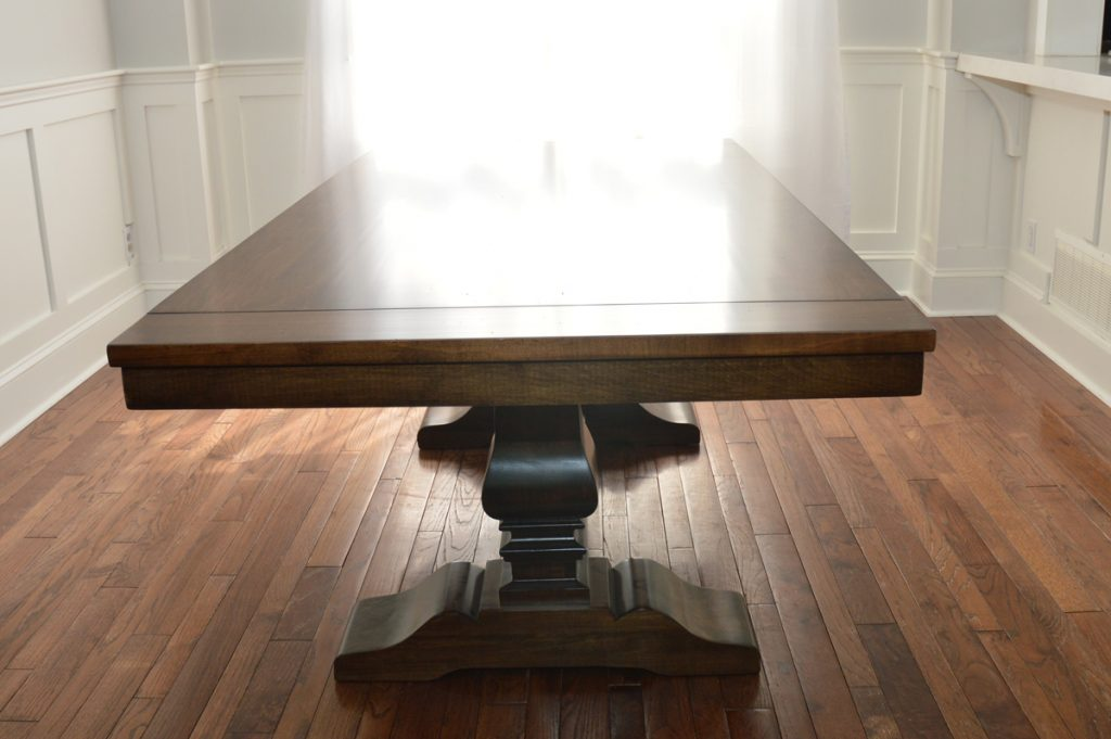 solid wood dining table in canada