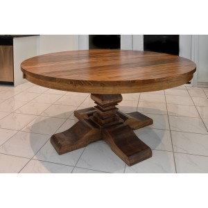 Built in Canada Solid Wood Round Table