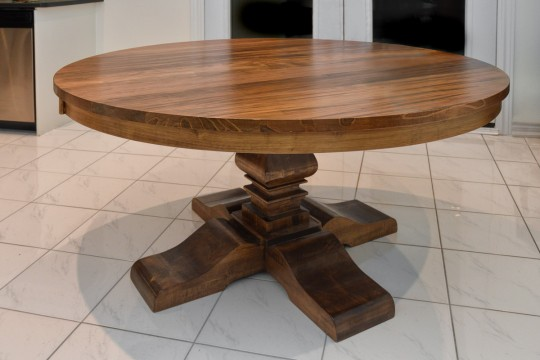 Built In Canada Solid Wood Round Table Anne Quinn Solid