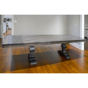 10 person dining table – built in Canada by the Mennoites