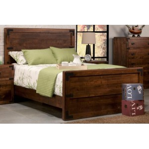 Saratoga Panel Bed