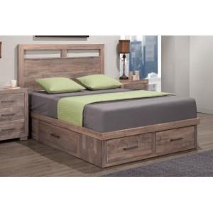 Steel City Storage Bed