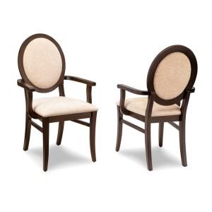 Sonoma Oval Back Arm Chair